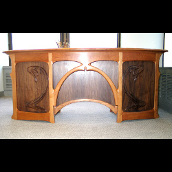 Full-size Art Nouveau Desk