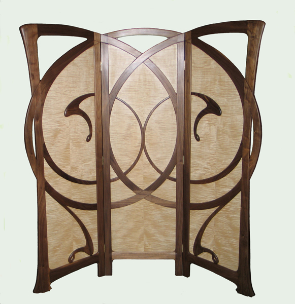 Art Nouveau Screen